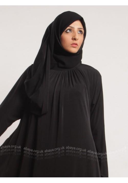 BLACK SIMPLICITY ABAYA ED811